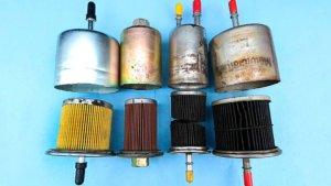 Засорение топливного фильтра