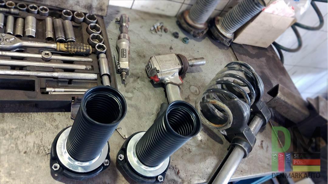 Замена-пружин-и-амортизаторов,-ремонт-тормозной-системы-Фольксваген-Гольф-7