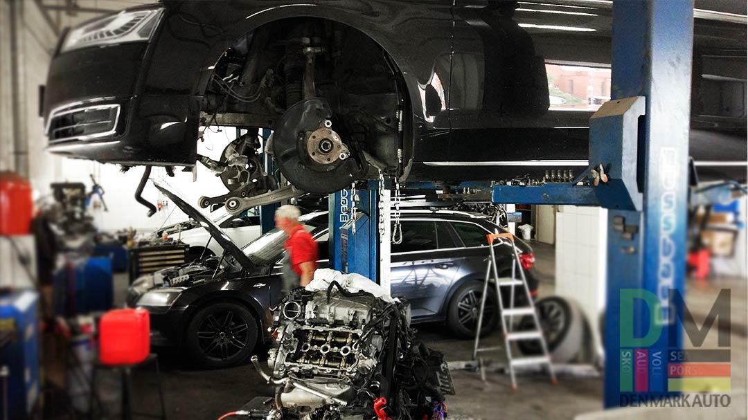 Замена цепей ГРМ Audi A8 3