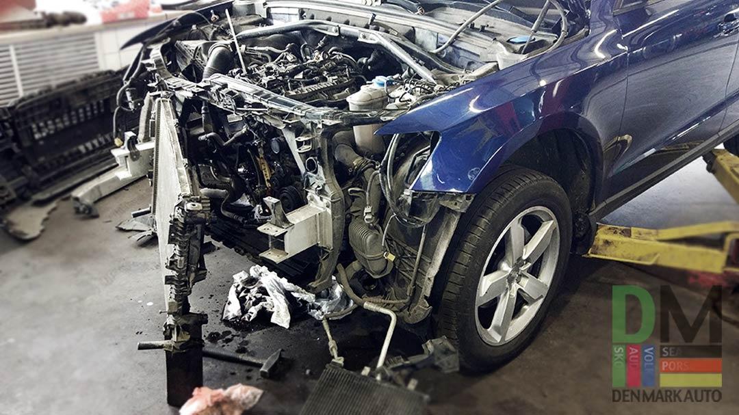 замена-передней-крышки-двигателя-ауди-Q3-1