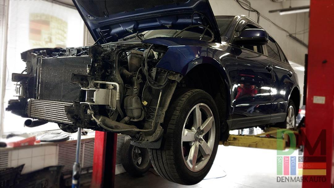 замена-передней-крышки-двигателя-ауди-Q3-3
